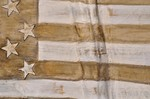 Detail US Flagge